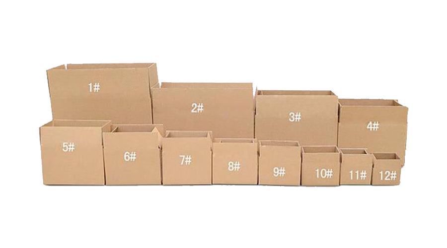 1-12号邮政纸箱