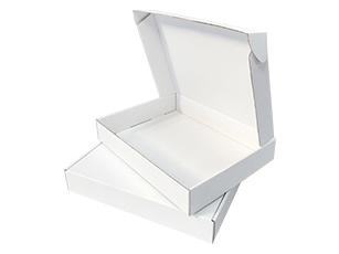 三层E瓦楞白色纸盒采购