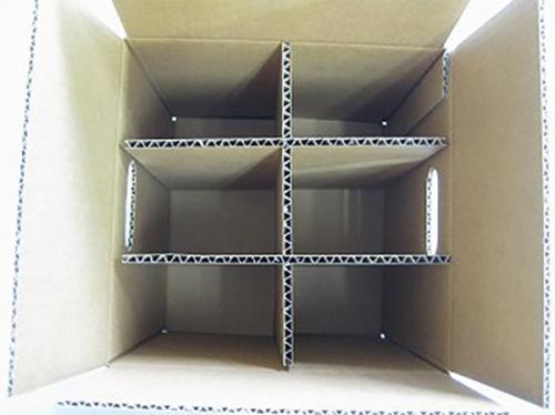 6格三层单瓦楞纸箱No.A055