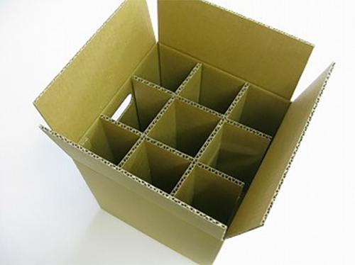9格3层单瓦楞纸箱No.A58