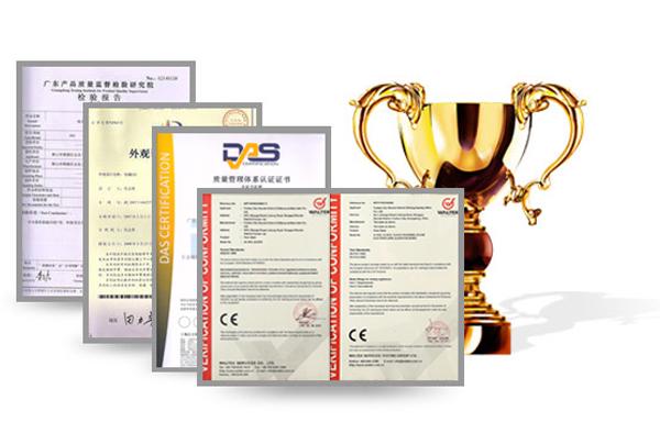 品质认证 严格按照ISO标准进行产品质检